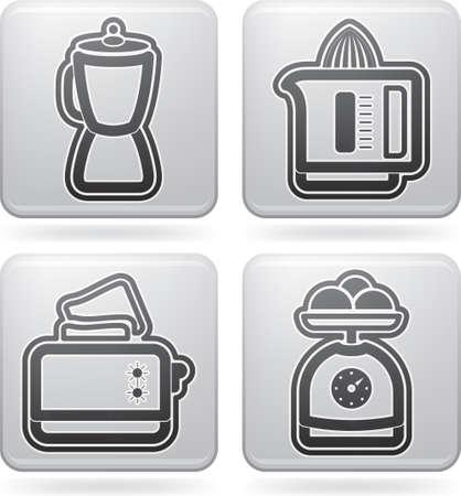 Kitchen utensils Stock Vector - 14984666