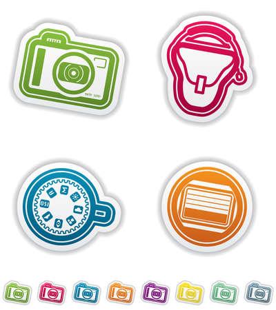 photo hardware: Photography tools Illustration