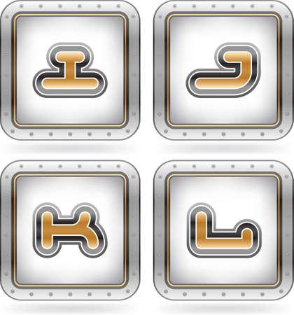 custom letters: Custom made capital letters