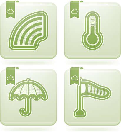 windsock: Weather Icons Set