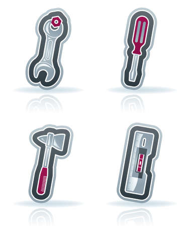 4 icons from Construction Industry theme Stock Vector - 15355591