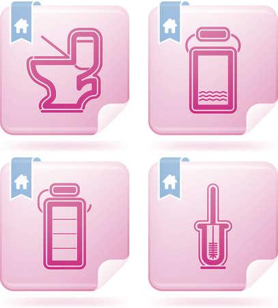 Bathroom Utensils Stock Vector - 15532752
