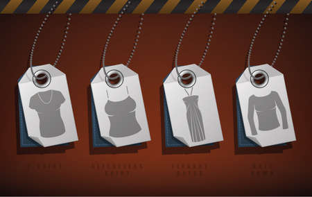 womans clothing: Womans Clothing theme icons set