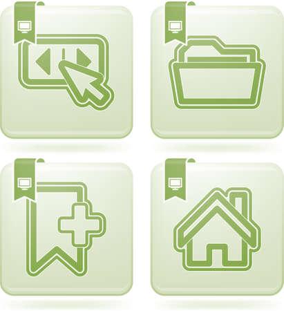 olivine: Web icons  internet icons