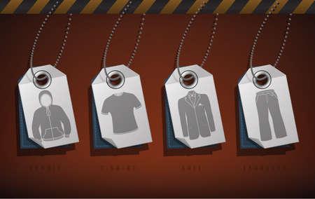 Man clothes Stock Vector - 15776982