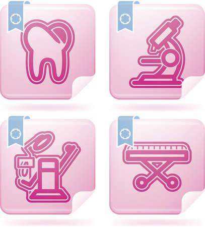 sillon dental: Salud Vectores