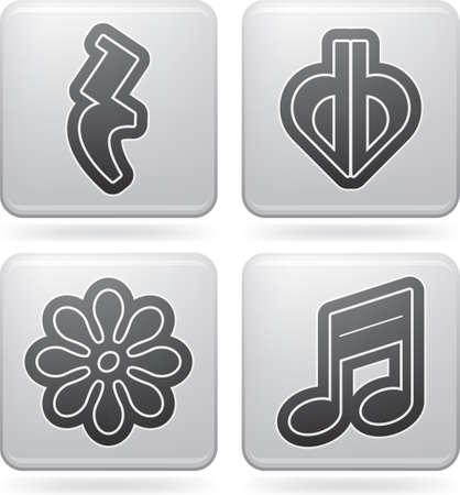 Music notation 向量圖像
