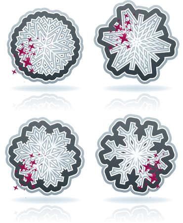 Snowflakes Stock Vector - 16914292