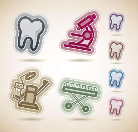 sillon dental: Medicina y Salud Vectores