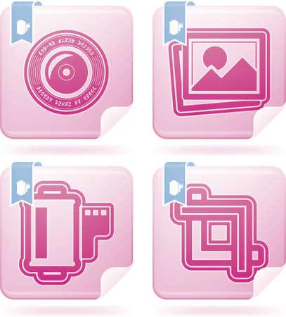 Photography tools   equipment Stock Vector - 16914368