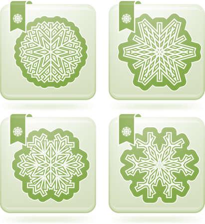 olivine: Snowflakes
