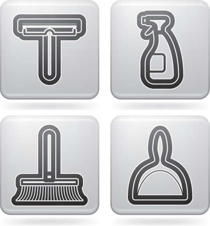Cleaning items Stock Vector - 16914014