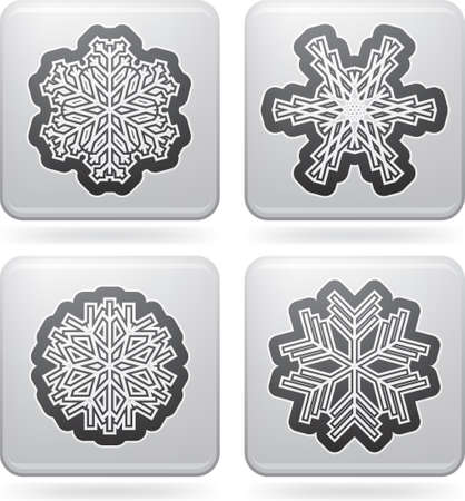 Snowflakes Stock Vector - 16914059