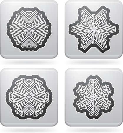 Snowflakes Stock Vector - 16914057