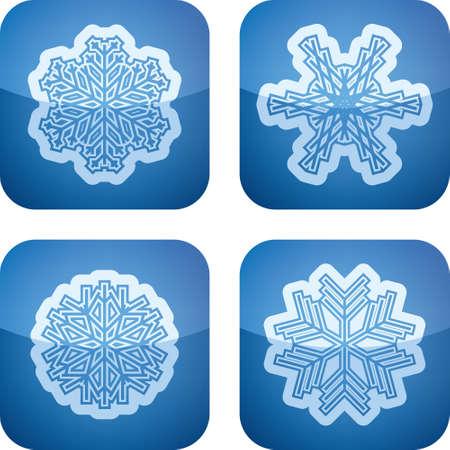 Snowflakes Stock Vector - 17094999