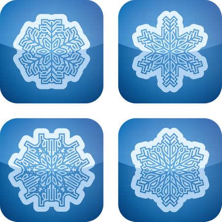 Snowflakes Stock Vector - 17095014