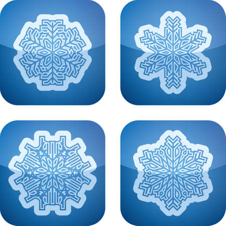 Snowflakes Stock Vector - 17095014