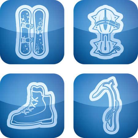 crampons: Winter sports