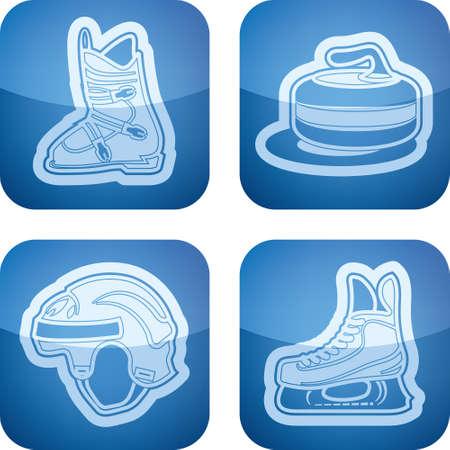 Winter sports Stock Vector - 17095003