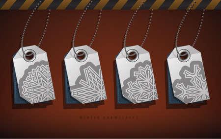 Snowflakes Stock Vector - 17095032