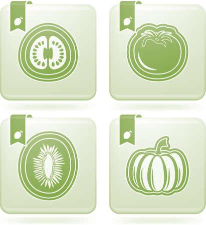 Healthy food Stock Vector - 18797036
