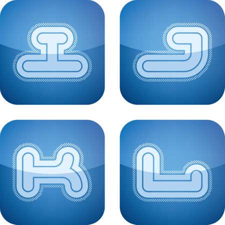 custom letters: Custom letters