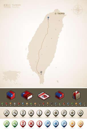 географический: Тайвань