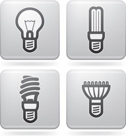 iluminacion led: Fuente de oficina Vectores
