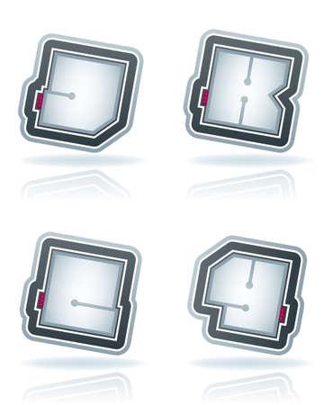 custom made: Custom made squared letters