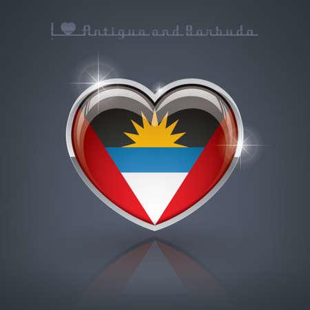 antigua: Antigua and Barbuda Illustration