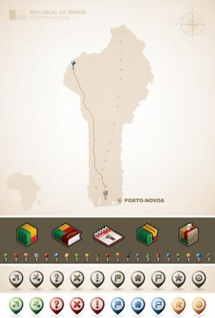 Benin Vector