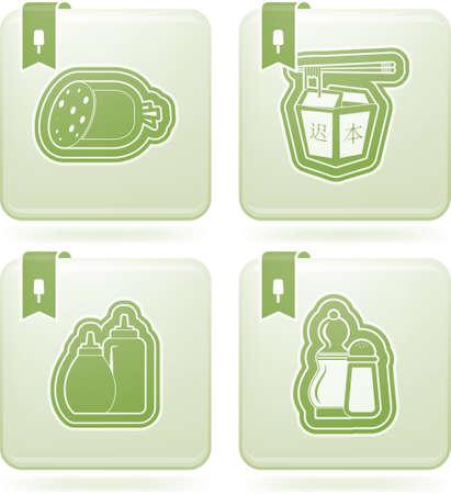 olivine: Food   drinks Illustration