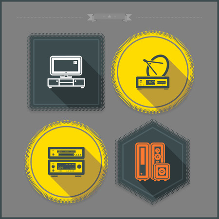 House related Objects from left to right - 