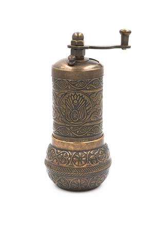 Türkische Pfeffermühle aus Messing