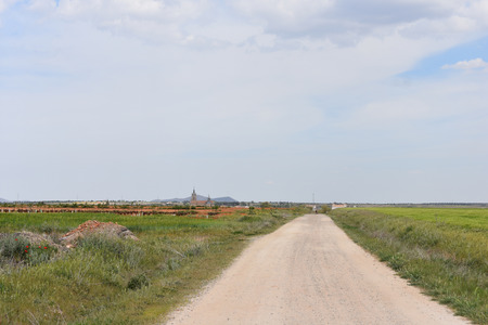 castilla: Road to the village