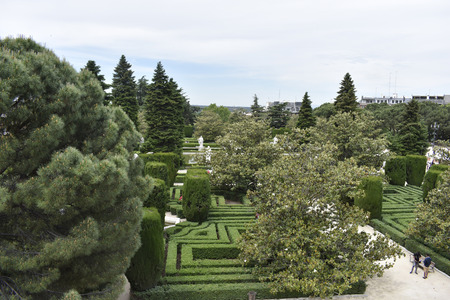 The palace gardens have a nice and fun labyrinth of trees and shrubs