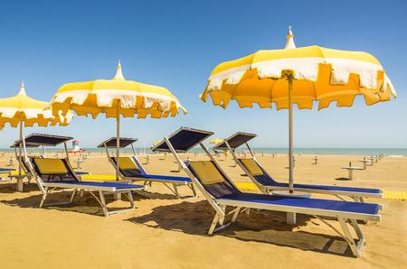 sunbeds: Umbrellas and sunbeds