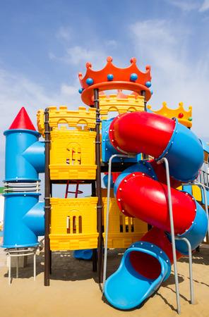 rimini: Beach Playground for Children - Rimini Beach - Italian Summer