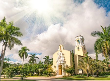 gables: Congregational Church of Coral Gables in Miami - Florida USA