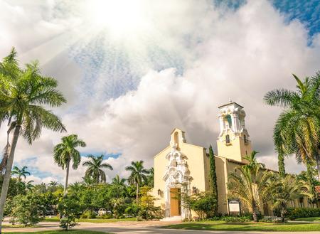 gables: Congregational Church of Coral Gables in Miami - Florida USA