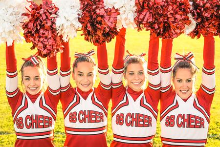 pom pom: Cheerleaders Team
