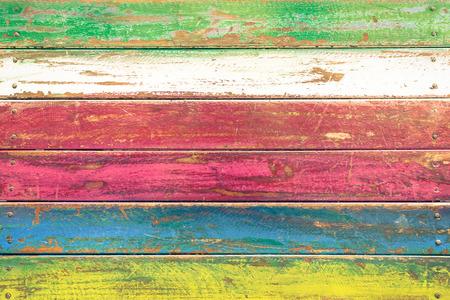 Tło wielobarwny drewna i alternatywne materiały budowlane - Tekstura na drewnianym stole w restauracji mody przestrajający - Retro bezszwowe tło wzór - Miękki rocznik uwypuklają filtrowane wygląd Zdjęcie Seryjne