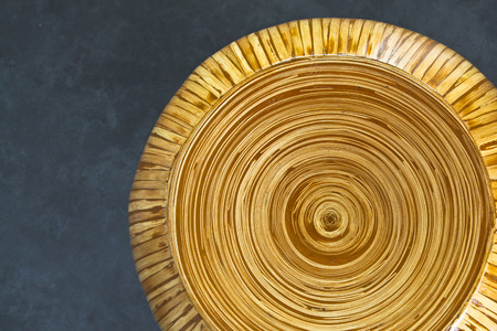 Top View Of A Round Bamboo Chair With Circle Pattern Stock Photo, Picture  And Royalty Free Image. Image 27531018.