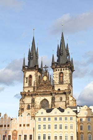 tyn: Tyn church in Prague