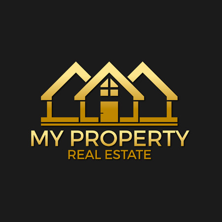 real: My Property Real Estate Logo