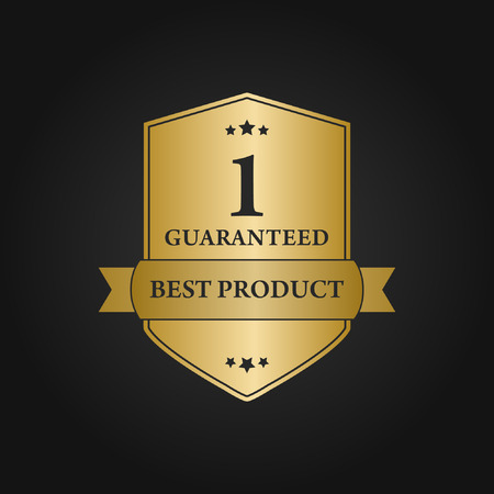 best product: Vector Gold Best Product Design