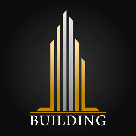 Architecture, Real Estate and Construction Vector Logo Design