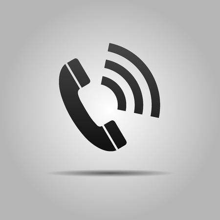 Phone Icon, and Symbol Vector Design