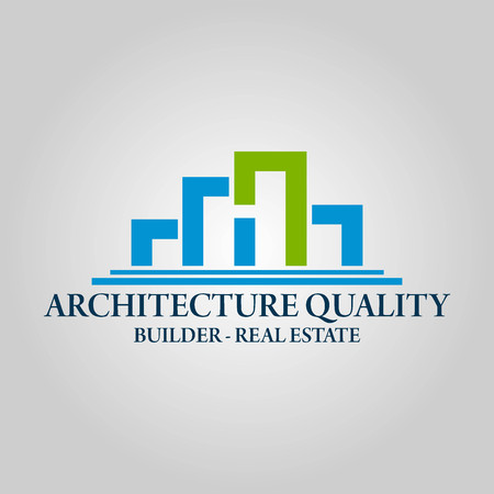 Real Estate, Architecture and Construction Vector Logo Design