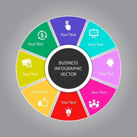 businnes: Businnes Infographic Vector Design Illustration